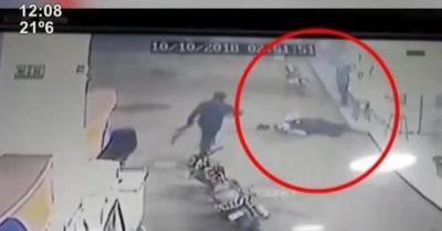 Guardia de surtidor muere baleado por asaltantes