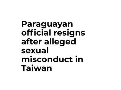 Acoso de funcionario paraguayo a traductora en Taiwán es noticia viral