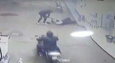 Demencial crimen contra un guardia