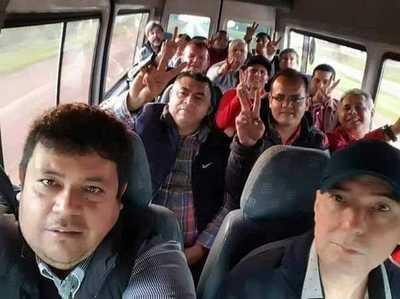 Hurreros de ZI van a Asunción con intención de frenar intervención