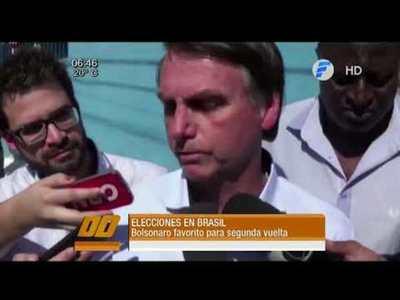 En Brasil, Jair Bolsonaro sigue siendo el favorito, según las encuestas