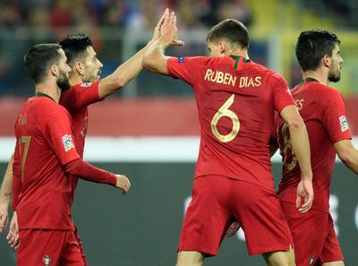Portugal gana y lidera el grupo 3 de la Liga de Naciones