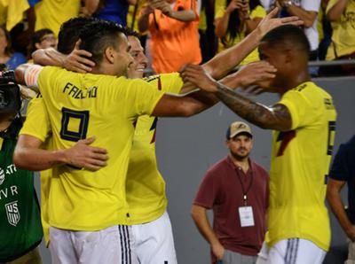Colombia superó a EE.UU. en amistoso internacional