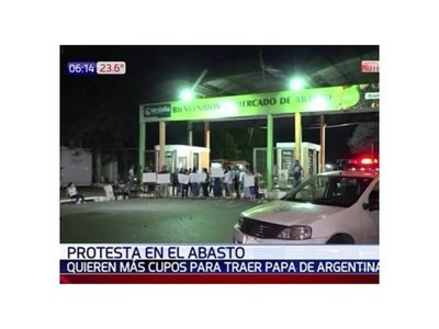 Comerciantes del Abasto piden más licencia para importar papas