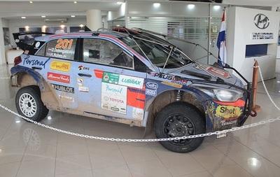 Expondrán auto del ganador deTranschaco Rally  en el Multiplaza