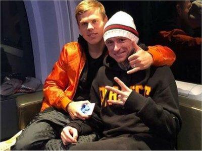 Kokorin y Mamáev, dos estrellas en el patio de la cárcel