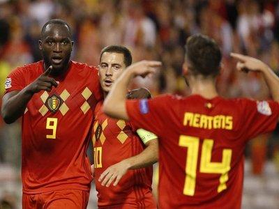 Bélgica se impone a Suiza con un doblete de Lukaku