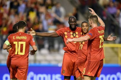Bélgica triunfa en otra jornada de la UEFA Nations League