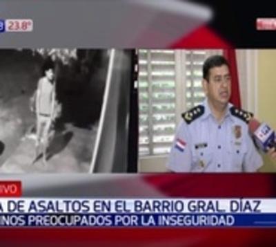 Ola de robos tiene en zozobra a todo un barrio de Asunción