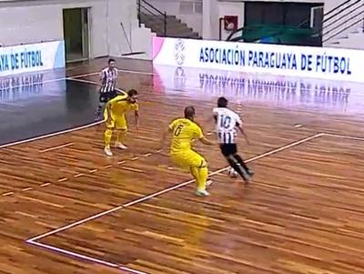 Santaní y Recoleta igualaron en el inicio de la Copa Paraguay de Futsal