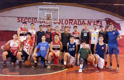 Comienza nacional de básquet en Cnel. Oviedo