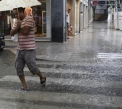 Lluvias y tormentas se registrarán durante todo el fin de semana