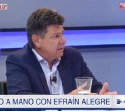Efraín Alegre anuncia que estará en un cargo para el 2023
