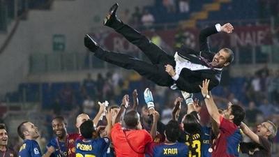 """HOY / Guardiola dice que la química de su Barcelona se da """"una vez en la vida"""""""