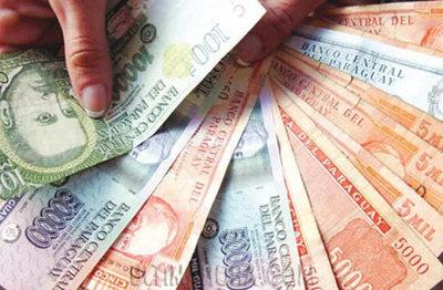 El dólar en alza, cotizando a G. 5.935