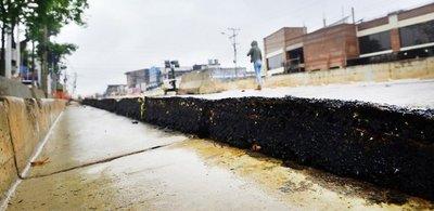 Señalan que las ondas en la capa asfáltica empeorarán
