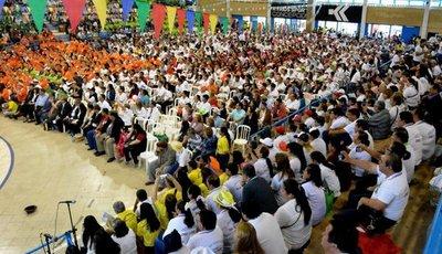 Fieles de 13 diócesis se reunieron en Concepción