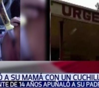 Adolescente vio que golpeaban a su madre y acuchilló al padrastro
