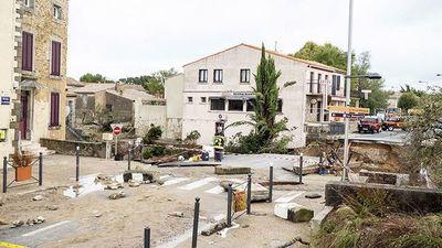 Al menos doce muertos y un desaparecido por inundaciones en el sur de Francia