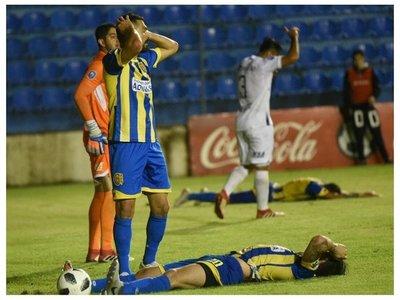 Santiago Salcedo y el gol que no llega