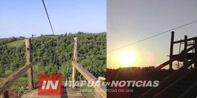 PRESENTAN NUEVA TIROLESA DE 400 METROS EN NVA ALBORADA.