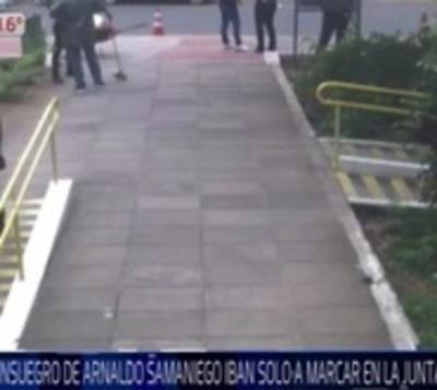 Denuncian a familiares de Arnaldo Samaniego por 'planillerismo'
