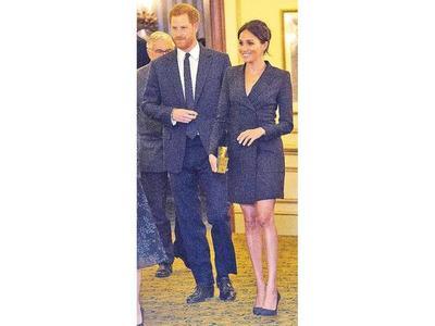 El hijo de Meghan  y el príncipe Harry