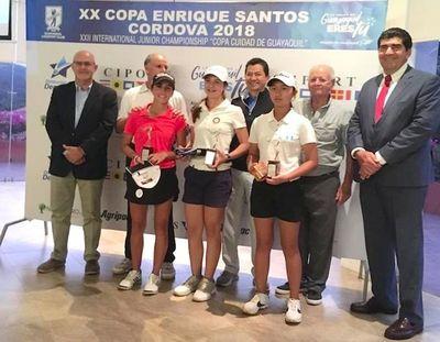 Giovanna es campeona en Ecuador