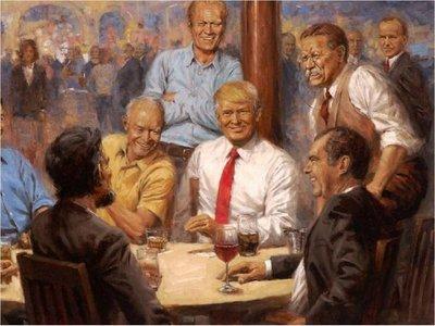 Trump causa nueva polémica con cuadro colgado en la Casa Blanca