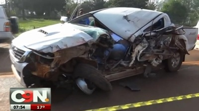 Hermanos mueren en accidente sobre la ruta 6