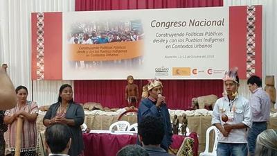 Congreso indígena presentó propuestas de políticas públicas