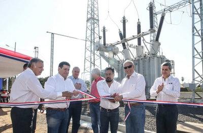 Inauguran subestación que beneficiará a 140.000 pobladores en San Pedro