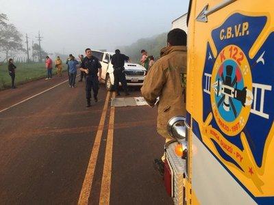 Accidente de tránsito deja dos brasileños fallecidos