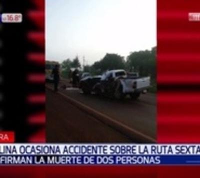 Fatal accidente en Minga Guazú a causa de la neblina
