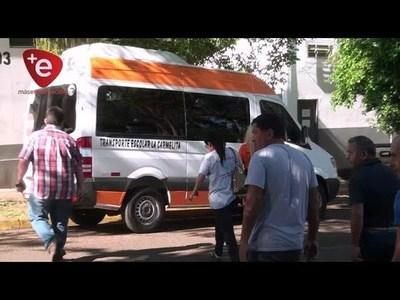 Transportistas escolares solicitaron mayor control a empresas que prestan este servicio