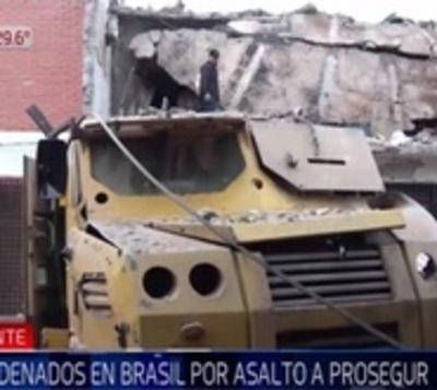 Brasil: Condenan a 8 miembros del PCC por asalto a Prosegur