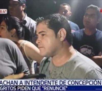 Exigen renuncia del intendente de Concepción