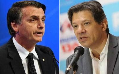 Bolsonaro y Haddad protagonizaron un fuerte cruce en Twitter