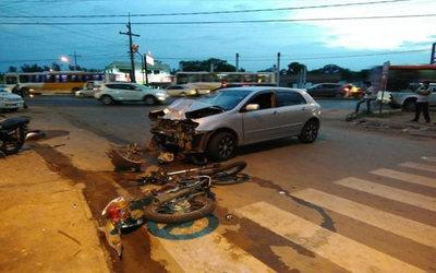 Motociclistas pierden la vida en accidente sobre Acceso Sur