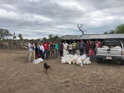 Unas 50 familias olvidadas, sin  agua y sin camino, en el Chaco