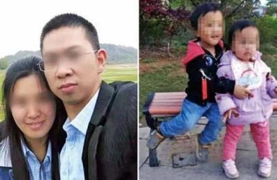 China: Una mujer mata a sus hijos y se suicida, después de que su marido fingiera morir