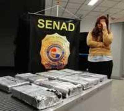 Incautan 12 kilos de cocaína en aeropuerto y anuncian más controles