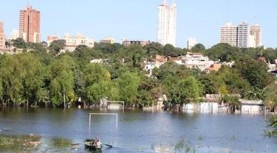 HOY / Nivel del río en Asunción entró en estado de alerta
