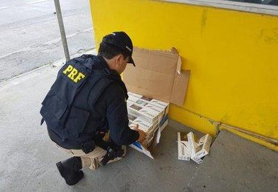 "Incautan carga ""récord"" de cigarrillos paraguayos"