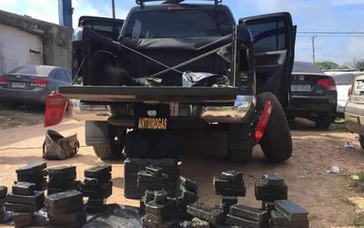 Detienen a paraguayos con cargamento de cocaína en Uruguay