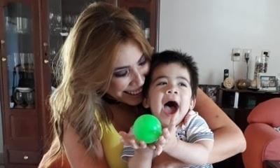 Amalia Cutillo emocionada por los primeros pasos de Elias