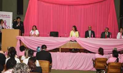 Salud Pública promete tratamiento continuo y sostenido a pacientes con cáncer de mama