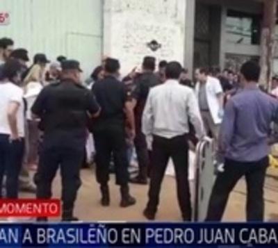 Asesinan a comerciante brasileño en Pedro Juan Caballero