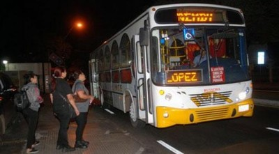 Verifican cumplimiento del servicio de transporte en horario nocturno