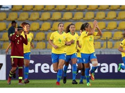Brasil golea a Venezuela y asegura pase a ronda final